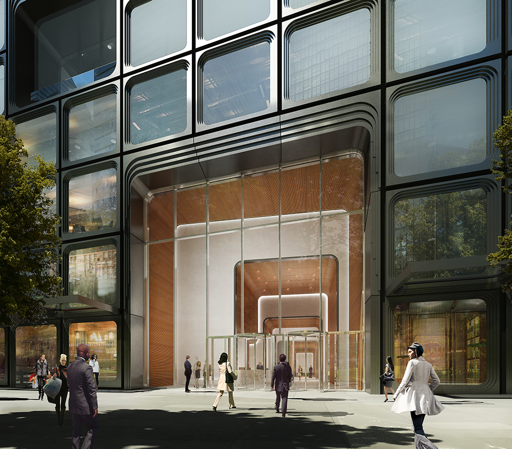 55 Hudson Yards, Mitsui Fudosan America, Oxford, Related, KPF 3