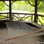 gazebo, 106 mountain laurel lane, catskills. hammock
