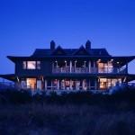 CWB Architects, Thai Style Southampton, Asian style, Modern Sea Front home, Thai Beach House, Southampton, Mahogany, wooden pilings, Shinnecock Bay, Atlantic Ocean