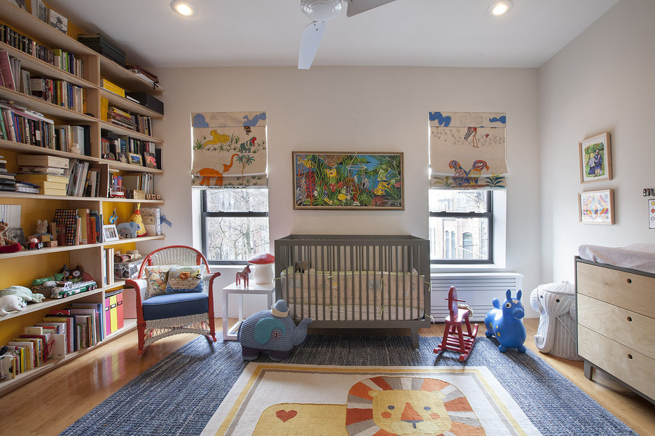 396 Franklin Avenue, second bedroom, children's bedroom, condo, clinton hill