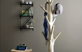 Yosemite Coat Rack, Uncommon Goods, mangosteen tree