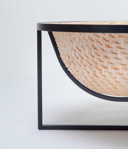 Otaku, Tal Engel, wood veneer bathtub
