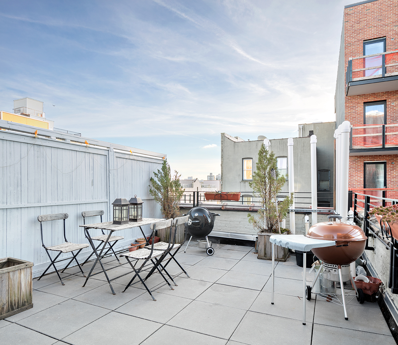 234 North 9th Street, roof deck, patio, outdoor space, sophia lofts, williamsburg