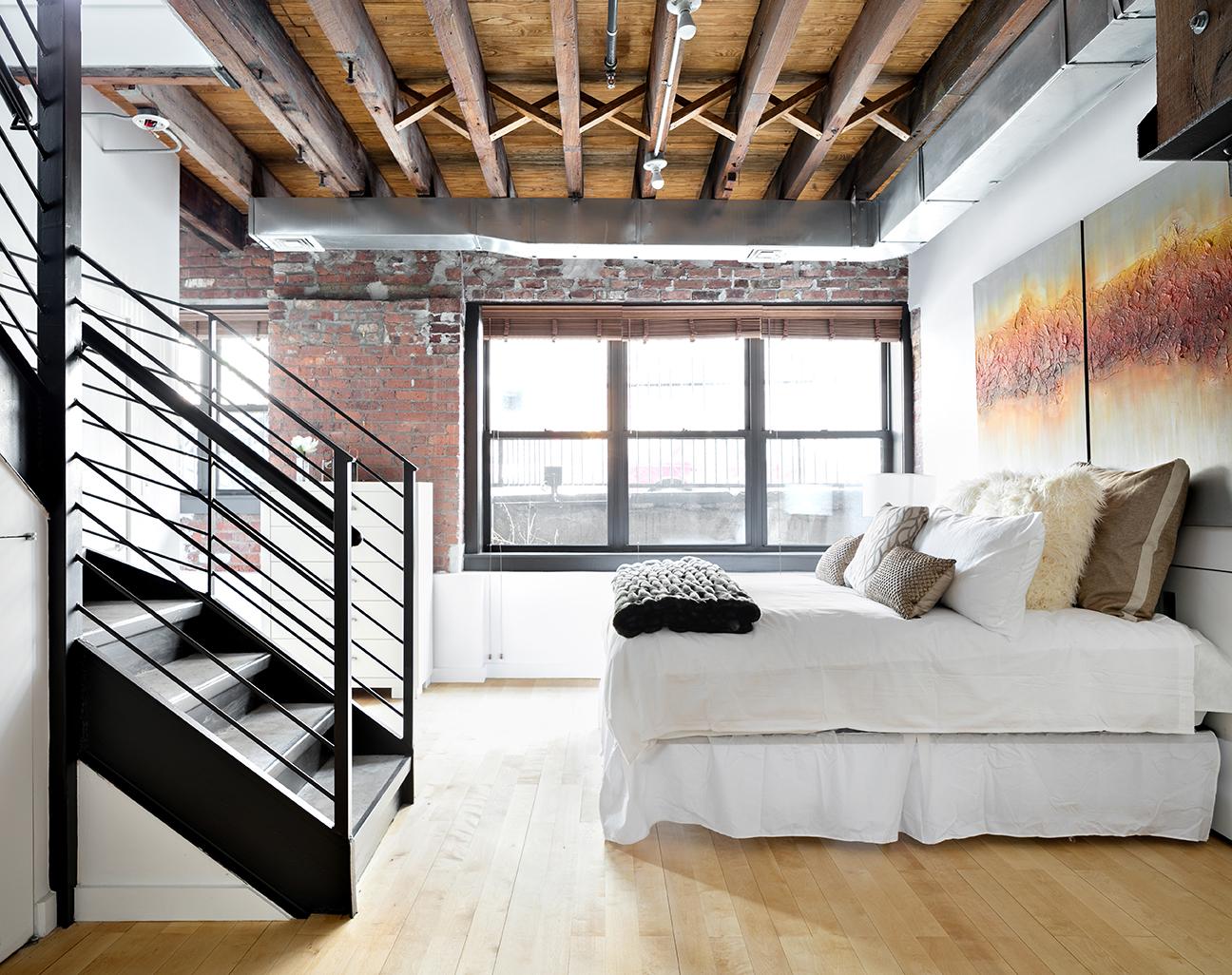 234 North 9th Street, williamsburg, bedroom, condo, loft, duplex, master bedroom