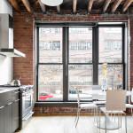 234 North 9th Street, kitchen, duplex, loft condo, williamsburg