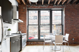 234 North 9th Street, kitchen, duplex, loft condo, williamsburg