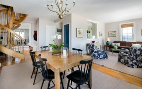 2 Grace Court, dining room, duplex, brooklyn heights, co-op