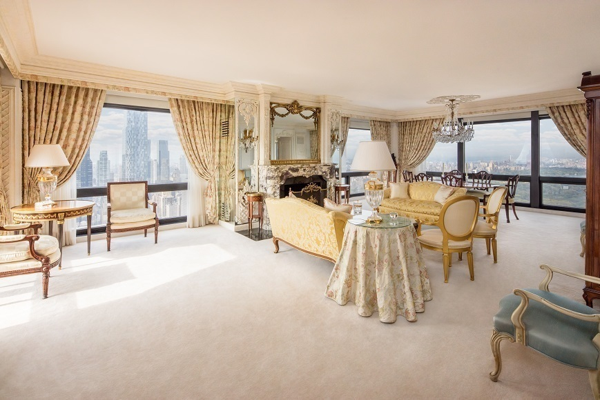 For 23 million you can be donald trump s downstairs for Fifth avenue apartments nyc