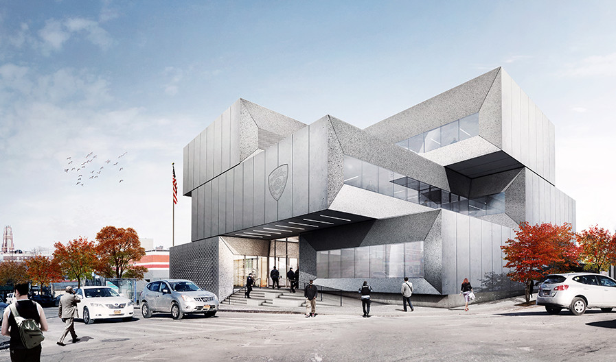 Bjarke Ingels, BIG architecture, NYPD 40th Precinct, NYPD architecture, South Bronx development
