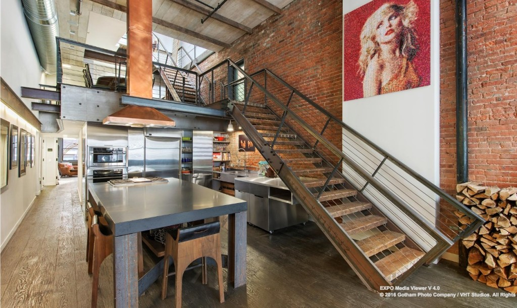 5m Penthouse Loft In Tribeca Flaunts Steel Copper And