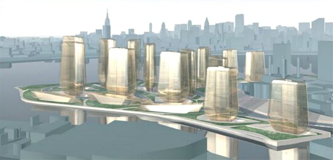 NYC Olympic Village, Zaha Hadid, NYC Olympics 2012, Hunters Point