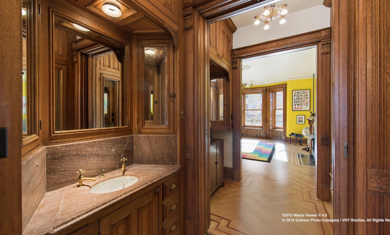 178 8th Avenue, Park Slope, Cool Listings, Townhouse, Brownstone, Brooklyn townhouse for sale, historic homes, interiors