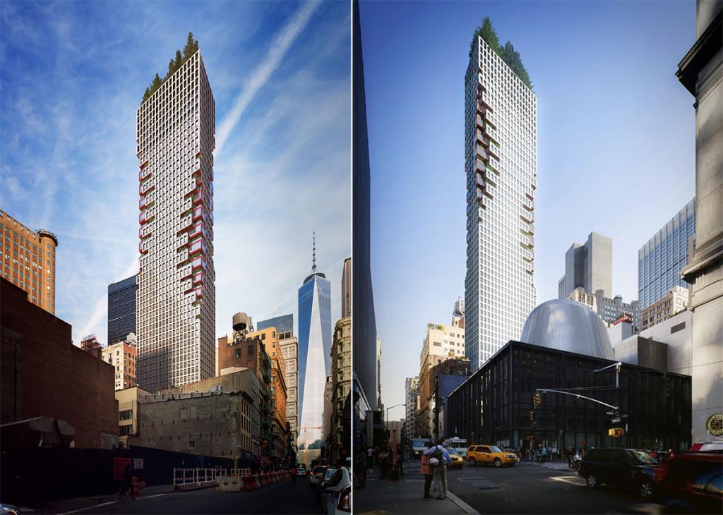 75 Nassau Street, ODA Architects, FiDi
