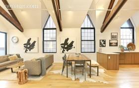 541 Leonard Street, williamsburg, living room