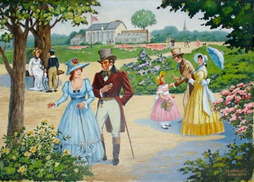 Elgin Botanic Garden, Frederick Elmiger