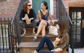 friends on a stoop