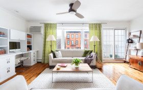 188 Degraw Street, cobble hill, living room, co-op, renovation