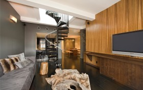 251 West 19th Street. Chelsea 19, Stephen Dorff, Celebrities, Chelsea, Penthouse, Cool listings, lofts, Manhattan penthouse loft for sale