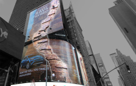 Times Square Toyota Billboard