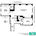 1 fifth avenue floorplan