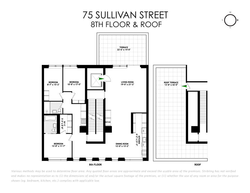 Rent at soho 39 s nearly complete 75 sullivan street units for Sullivan floor plan