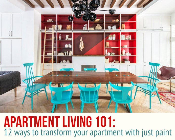 12 Easy And Affordable Ways To Transform Your Apartment With