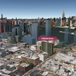 Manhattan Skyline, google Earth, Future Skyline