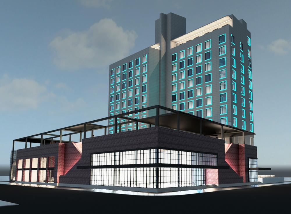 DREAM HOTEL LIC, 9-03 44th Road (2), Manhattan views