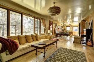 East Hampton, living room