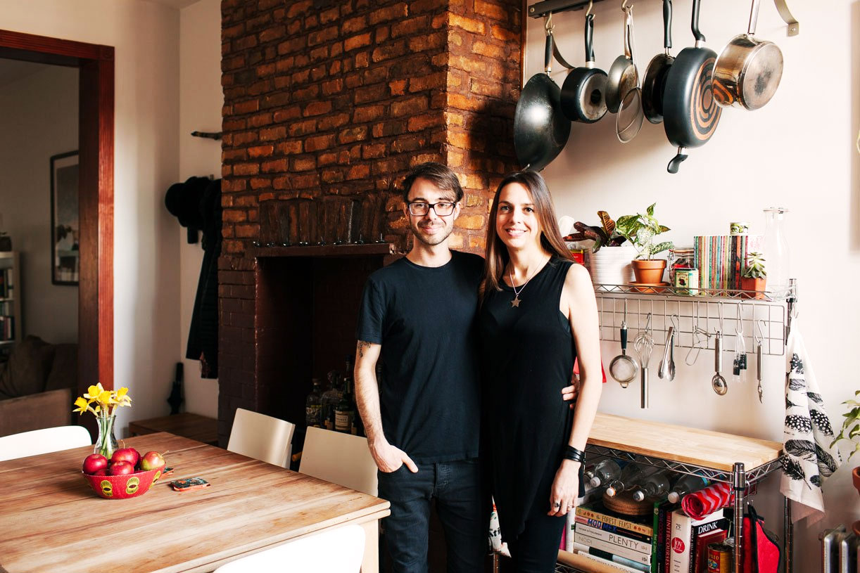 My 1,000sqft: Tour a Newly Transplanted Couple's Bushwick