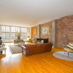 354 Broadway, living room, loft, tribeca