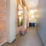 354 Broadway, living room, loft, tribeca, entry