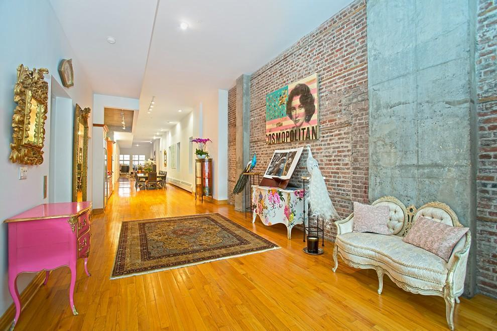 354 Broadway, loft, tribeca, living room