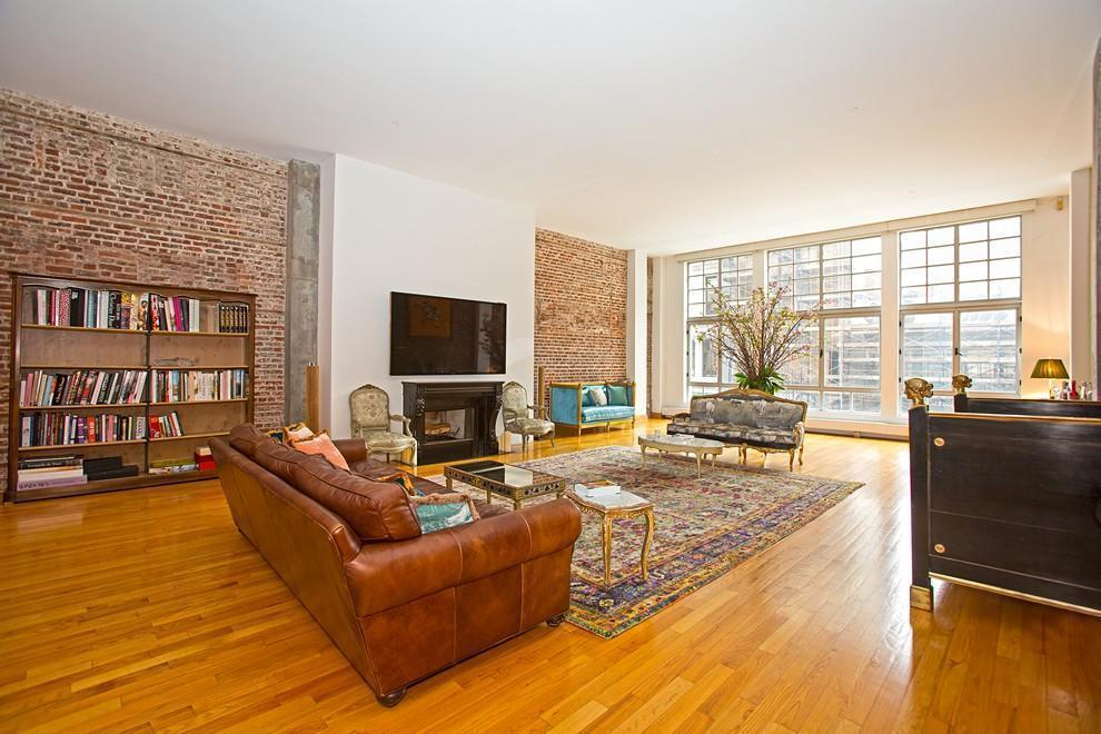 354 Broadway Living Room Loft Tribeca