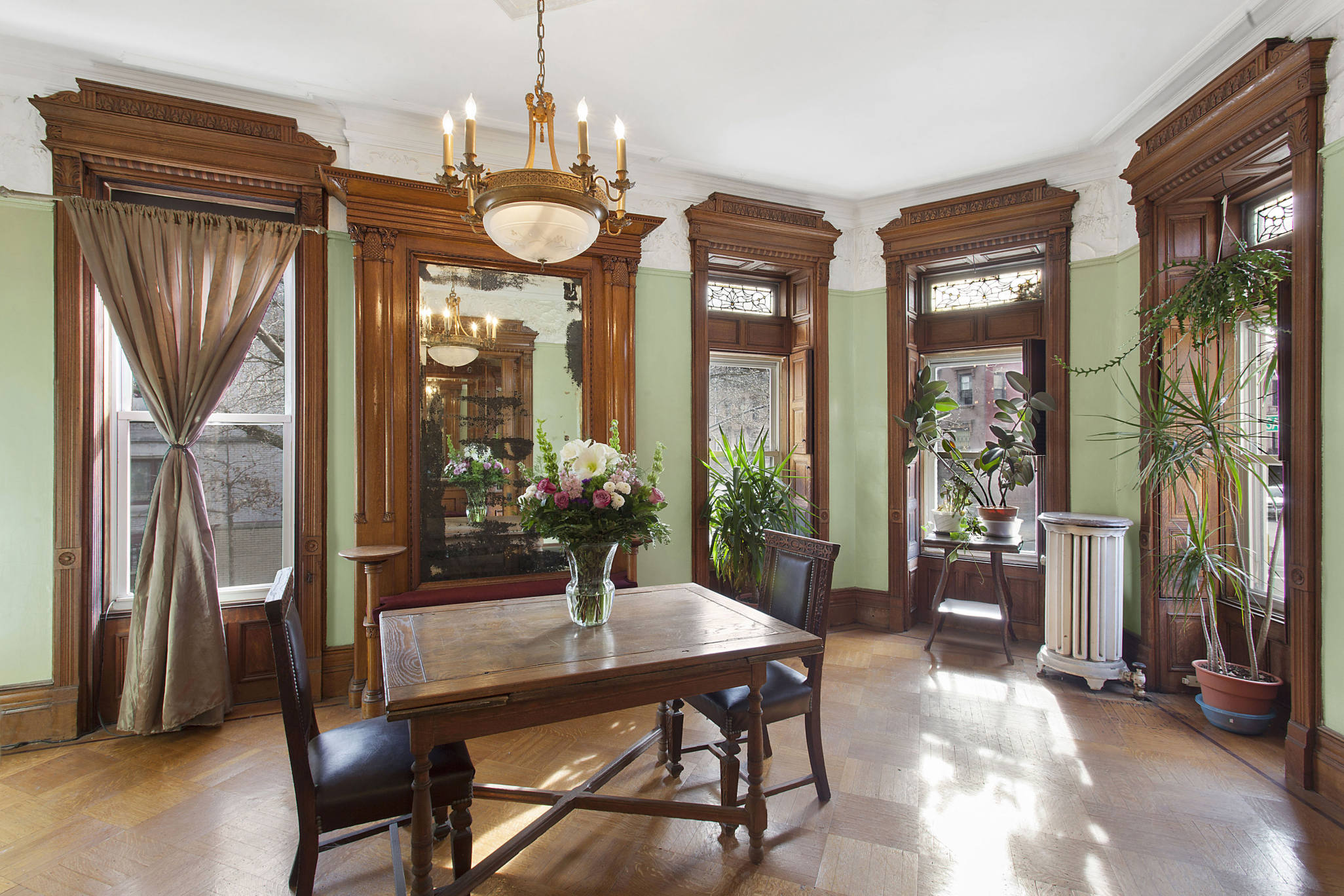 the sale of this $2.8m stuy heights corner limestone beauty will