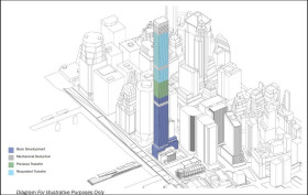 80 south street tower, city planning commission, air rights