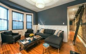 242 West 104th Street, co-op, living room