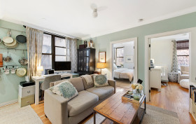 118 West 112th Street, living room, condo