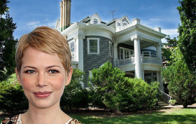 michelle williams -brooklyn home in prospect park