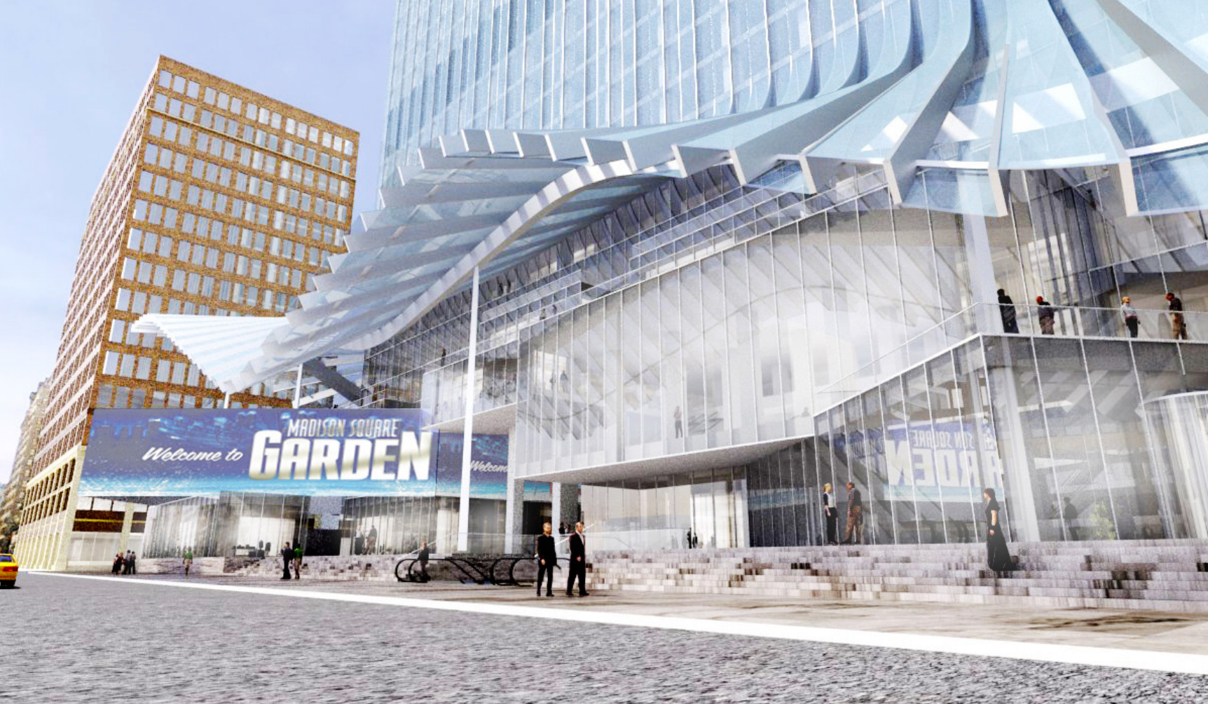 Vornado Likely To Keep Bjarke Ingels Wave Like Canopy