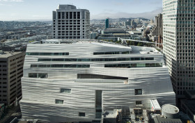 SFMoMA, Snohetta, construction materials, composite based building, Apple