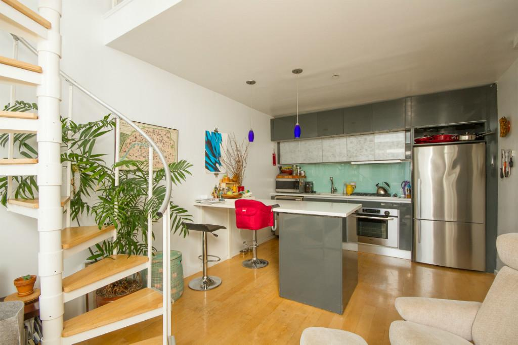 925 Pacific Street, kitchen, condo, crown heights, hello madison