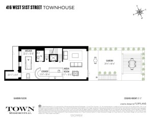 416 West 51st Street, Cool Listings, Hells Kitchen, Clinton, Townhouse, Suk Design Group, Manhattan Mansion, Midtown