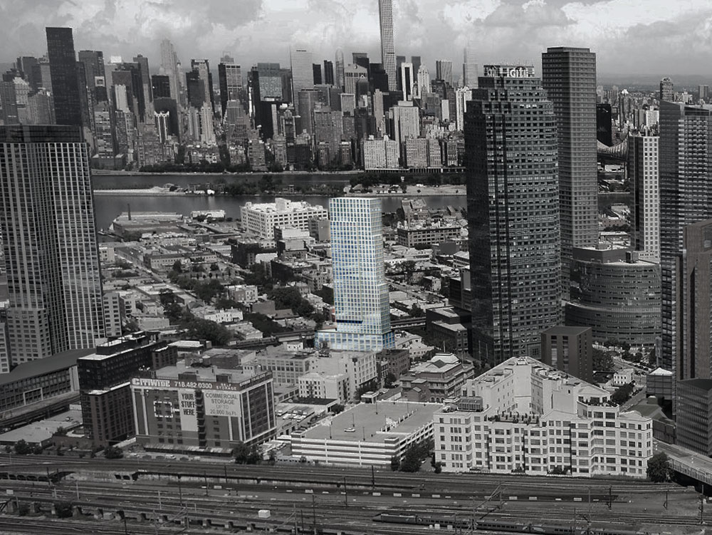 LIC Developments, NYC skyline