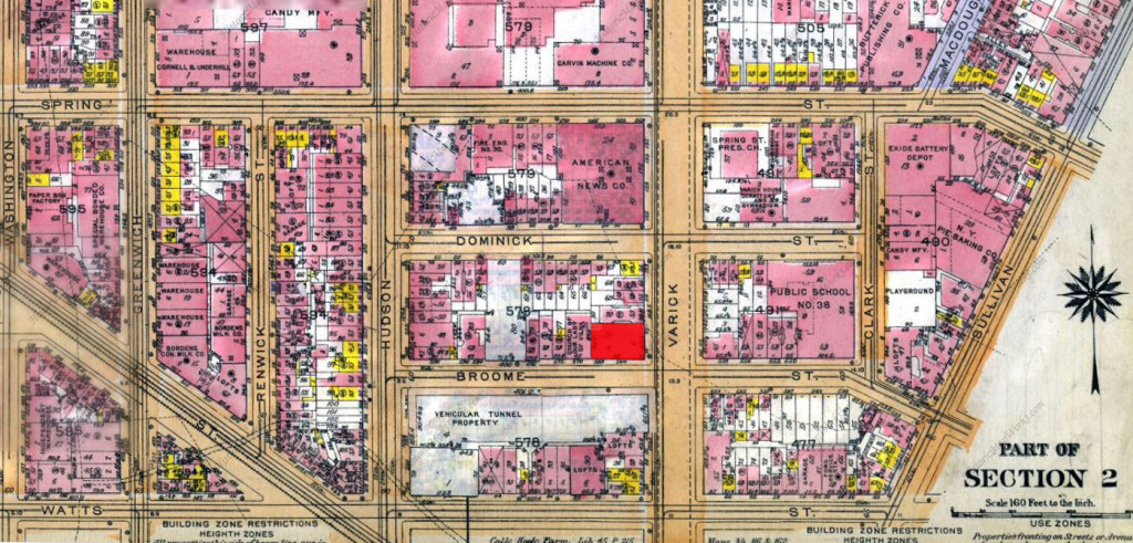 111 Varick Street - Historical Map Works