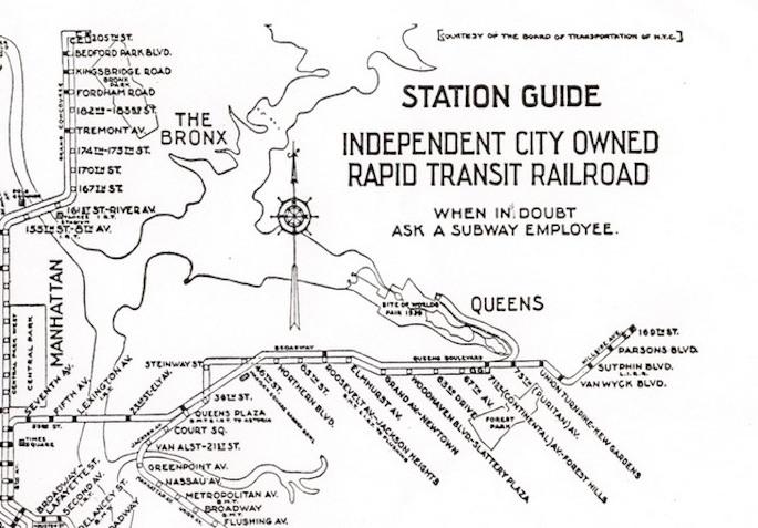1939/1940 Worlds Fair, Worlds Fair Subway line, NYC subway, transportation, lost subway line, history, flushing meadows corona park, robert moses