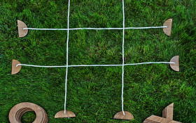 Jeremy Exley, Giant Tic-tac-toe, backyard games