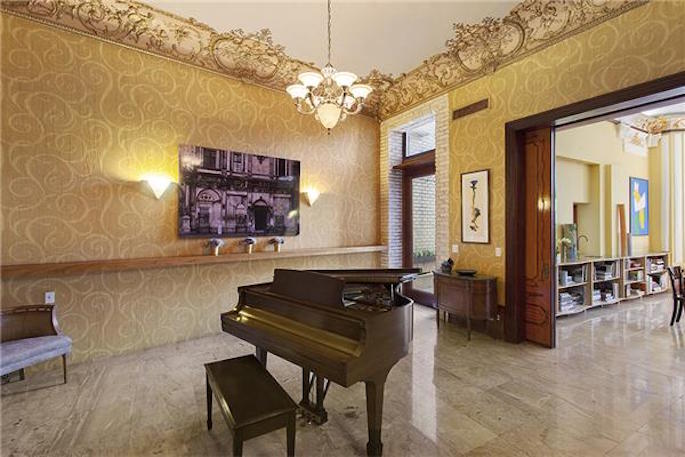 3 Riverside Drive Piano Room