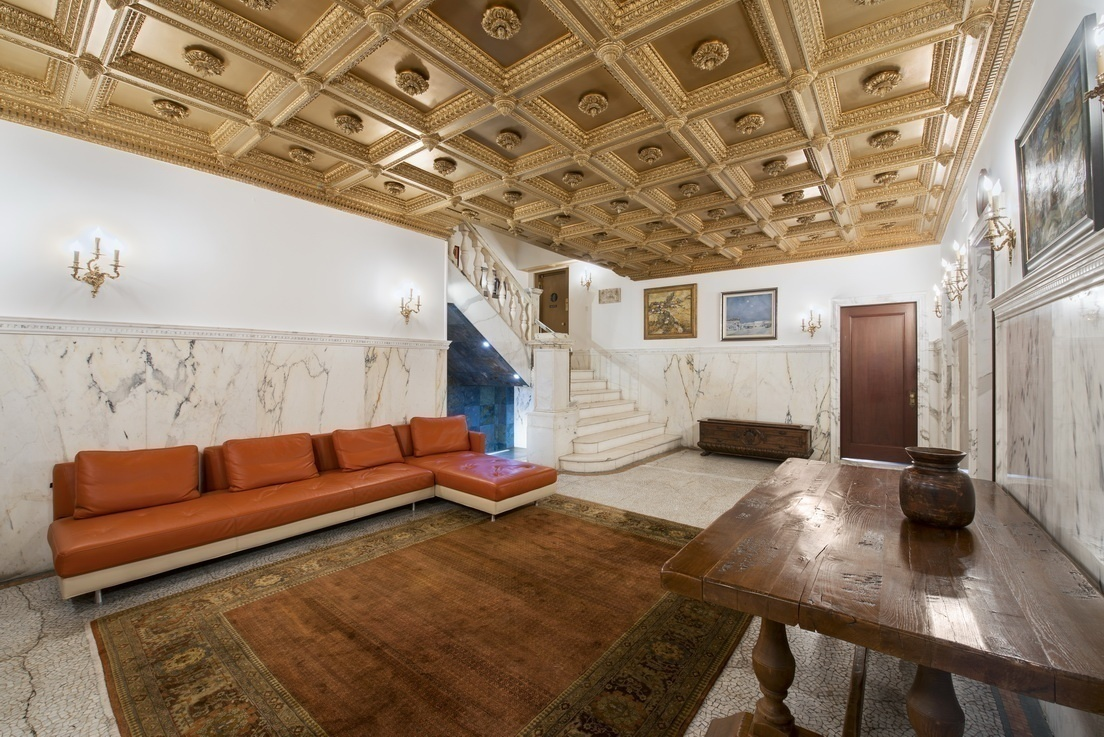 Gilded Age Riverside Drive Mansion With Basement Pool