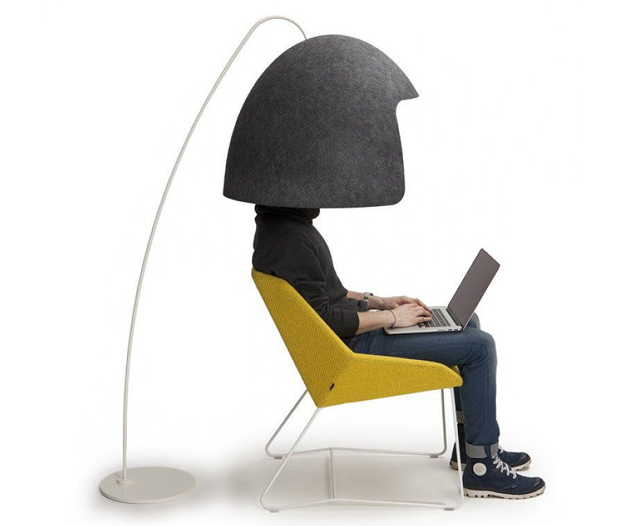 Cocoon Design Bank.Office Cocoon Promotes Privacy And Productivity In Any Environment